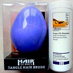 Dusy Arganový šampon - akce + kartáč